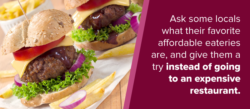 affordable eateries